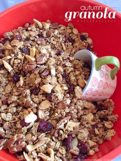 ** Autumn Granola... Tried and good, not overly sweet-JC