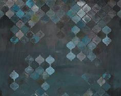 Papier peint à motifs pour salle de bain ALADINO Collection WET SYSTEM ™ 16 by Wall