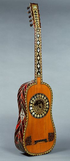 Guitar, 1697 Jean-Baptiste Voboam (French, 1658–after 1731) Paris