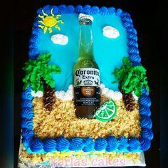 Corona beer cake!!!