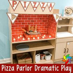 Dramatic Play Themes, Dramatic Play Area, Dramatic Play Centers, Play Corner, Corner House, Role Play Areas, Restaurant Themes, Play Centre, Art Lessons Elementary