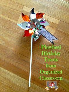 Breezy Birthday Treats! - The Organized Classroom Blog