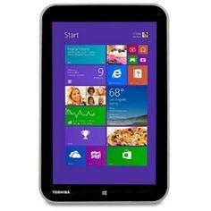 Toshiba Encore Atom Z3740 Quad-Core 1.33GHz 2GB 32GB 8 Multi-Touch Tablet W8.1 w/Cams BT & HDMI (Silver)