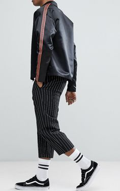 On my wish list : Reclaimed Vintage Inspired Satin Zip Through Jacket from ASOS #ad #men #fashion #shopping #outfit #inspiration #style #streetstyle #fall #winter #spring #summer #clothes #accessories