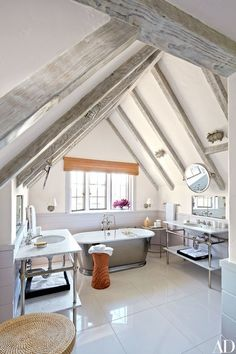 House Remodel HQ – Home Renovations Ideas Architecture Renovation, Attic Renovation, Design Studio, Home Design, Spa Like Bathroom, Attic Bathroom, Bathroom Inspo, Warm Bathroom, Simple Bathroom