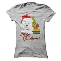 Christmas Westie T-Shirts, Hoodies. Get It Now ==>…