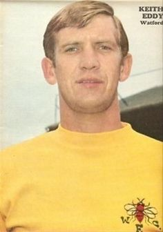 CHARLES-Buchan-Watford-EDDY-old-football-magazine-picture