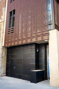 Blackened Steel Façade | Caliper Studio