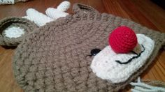 Cappellino lana renna