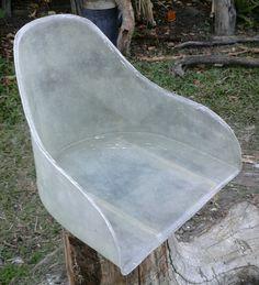 Fibreglass seat shell type1