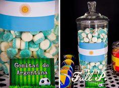 Fiesta de cumpleaños de fútbol: Argentina campeón | Blog de BabyCenter                                                                                                                                                      Más