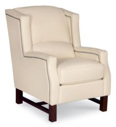Check out what I found at La-Z-Boy! Wingback Chair, Armchair, Lazyboy, Basement Makeover, Nailhead Trim, Occasional Chairs, Living Room Chairs, Cosmopolitan, Contemporary