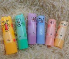 2016 Present Newest  Lovely Animal head Lip Smacker Colorful Girl Makeup Lip Balm Lipstick Lipbalm #>=#>=#>=#>=#> Click on the pin to check out discount price, color, size, shipping, etc. Save and like it!
