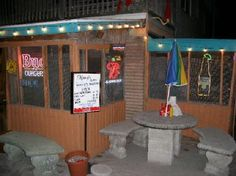 Skinnys. BEST burger joint. Across from Manatee Beach, Anna Maria Island, FL. Closed Mon, super busy every other day.