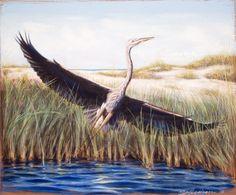Artist Scott Wilson  Pastel