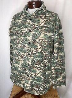 Alpine Company VTG M/L Camo Long Sleeve Shirt Allpine Camouflage USA Made Soft  | eBay Man Clothes, Western Shirts, Brunei, Camouflage, Military Jacket, Long Sleeve Shirts, Usa, Sleeves, Jackets