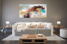 Items similar to Large Painting on Canvas,Original Painting on Canvas,modern wall canvas,abstract originals,huge canvas painting on Etsy Large Abstract Wall Art, Large Painting, Large Wall Art, Texture Painting, Painting Art, Texture Art, Art Paintings, Large Art, Abstract Paintings
