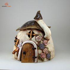 Windlicht Pilzhaus