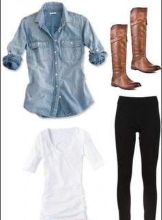 simple day look perfect for a classy mom look