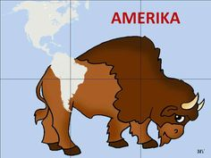 Continents, Scooby Doo, North America, Preschool, Around The Worlds, Education, Children, Petra, Animals