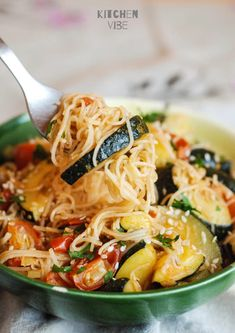 Easy Cooking, Healthy Cooking, Healthy Eating, Cooking Recipes, Food Porn, Vegetarian Recipes, Healthy Recipes, Healthy Foods, Pasta Dishes