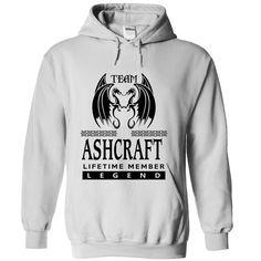 (Tshirt Amazing Gift) TA2403 Team ASHCRAFT Lifetime Member Legend Good Shirt design Hoodies Tees Shirts