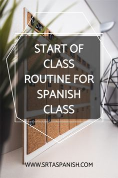 Classroom routines and procedures are essential for a successful classroom. They help your classroom run efficiently so you can maximize student learning. Check out these routines to start your Spanish class every day! Perfect for middle school and high school Spanish students! Perfect for new and veteran teachers alike. #spanishclass #classroomroutines Classroom Routines And Procedures, Classroom Management Tips, Middle School Spanish, Spanish Class, Spanish Lesson Plans, Spanish Lessons, Class Routine, Classroom Community, Class Activities