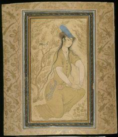 Riza Abbasi, 1600, State Hermitage Museum