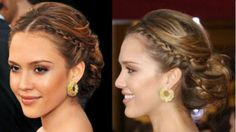 Side updo hairstyles