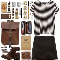 """DAY WEAR - MY DAYS ARE PACKED"" by pretty-basic on Polyvore"