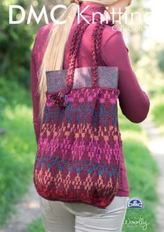 Slouch Bag in DMC Woolly - 15135L/2. Discover more Patterns by DMC at LoveKnitting. We stock patterns, yarn, needles and books from all of your favorite brands.