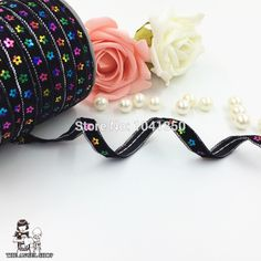 3/8''(9mm) 50yards/roll silver glitter line black velvet polyester grosgrain sequins flower ribbon wedding party decoration-in Ribbons from Home & Garden on Aliexpress.com   Alibaba Group