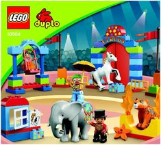 Duplo - My First Circus [Lego 10504] Instructions