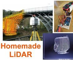 Simple LiDAR using the laser rangefinder Uni-T UT390b, Arduino and Turbo Pascal
