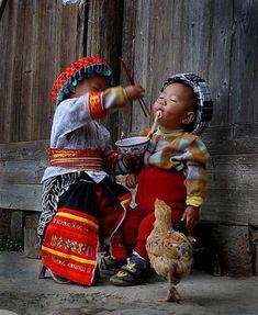 Children of Ha Giang Province, Vietnam.