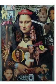 Artwork Monna Lisa is pregnant also without the fecundation of a man...