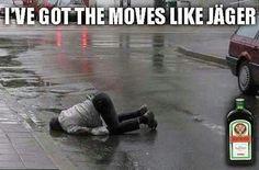 Moves like...