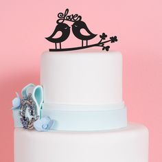 Love Birds Wedding Cake Topper wedding favors