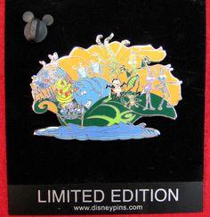Disney Pixar Pin 54507 A Bug's Life River Rafting Jumbo ARTIST PROOF Silver PIN!