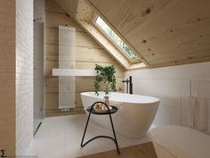 Bathroom Niche, Loft Bathroom, Upstairs Bathrooms, Bedroom Loft, Bathroom Interior, Small Bathroom, Simple Bedroom Design, Interior Design Living Room, Bad Inspiration