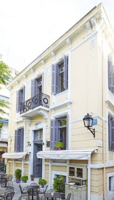 My Athens, Neoclassical Architecture, Shutters, Home Goods, Greece, Restoration, Sweet Home, Multi Story Building, New Homes