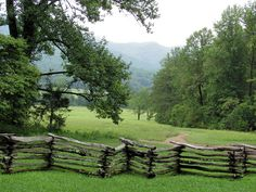 Cades Cove-Smokey Mountain-----Spent my Honeymoon there. This is a very special place, the beauty, peace and quite. I know how the American Indian thought that this was a spirital place. I feel it too.