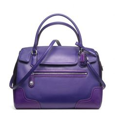 The Poppy Colorblock Leather Flap Satchel from Coach This color is soooo pretty!!!