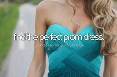 In Germany we don't have prom but I hope I can find at least the perfect Graduation dress