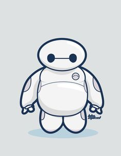 Big Hero 6 : Baymax Chibi by levy009 on deviantART