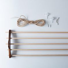 Adjustable Laundry Drying Rack: A stylish drying rack you can raise and lower. #food52