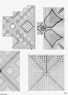 Crochet: VERY BEAUTIFUL PATTERNS FOR CURTAINS