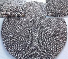 Håndlagede tepper fra Nepal, BALL RUGS (tilsv. HAY)