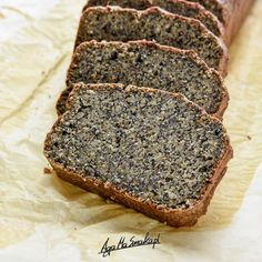 Good Food, Yummy Food, Polish Recipes, Almond Cakes, Foods With Gluten, Healthy Desserts, Sweet Tooth, Biscotti, Banana Bread