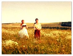 """Kindred Spirits {Anne and Diana from Anne of Green Gables} 